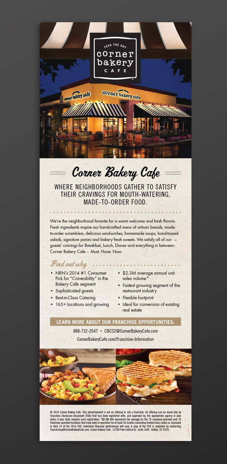 Cody Wellons | Graphic Design & Photography » Corner Bakery Cafe ...